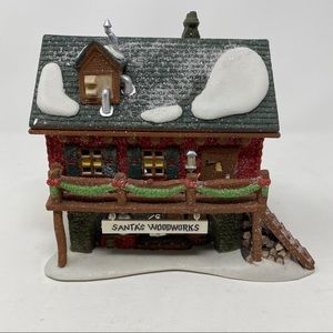 Department 56 Santa's Woodworks